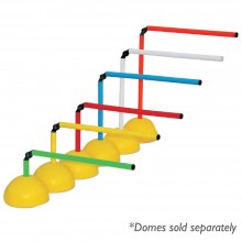 "Agility Hurdle Pole (Set of 6, Heights: 9"" to 24"")"