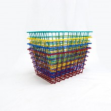 Wire Mesh Basket (51cm x 31cm x 25cm)