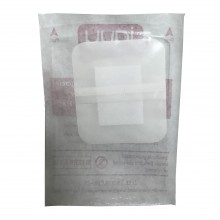Transparent Waterproof Dressing with Low Adherent Absorbent Pad (6cm X 7cm)
