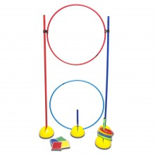 Hoops, Poles and Rings Basic Play Set