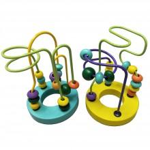 Mini Around Beads Wire Maze Roller Coaster