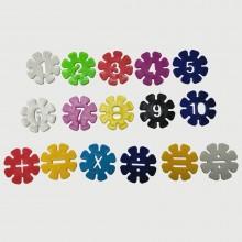 Interlocking Snowflake Chips Puzzle Building Set (500 pieces)