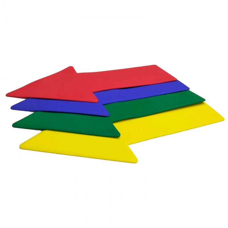 8 x Anti-Slip Floor Markers (Arrow)