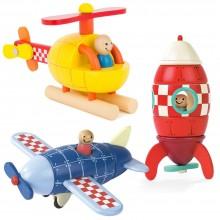Magnetic Rocket / Aeroplane / Helicopter