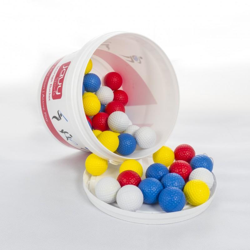 Bucket of Foam Golf Balls (50 Pieces)