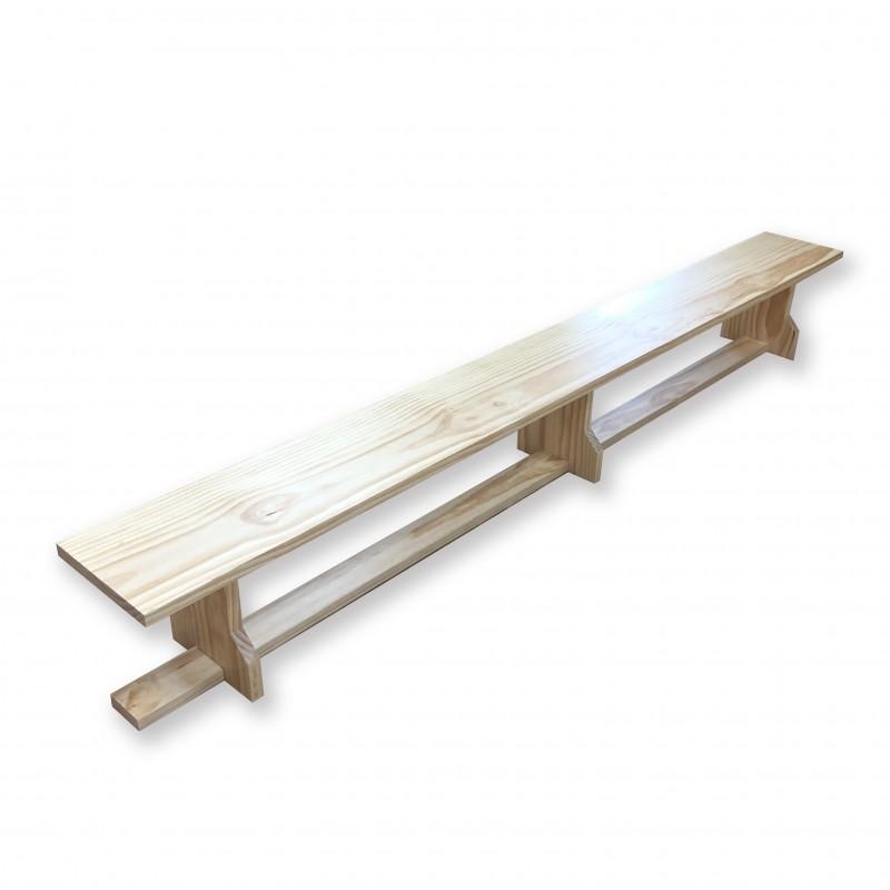 Pine Wood Gymnastics Bench