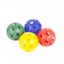Plastic Perforated Balls (Set of 4)