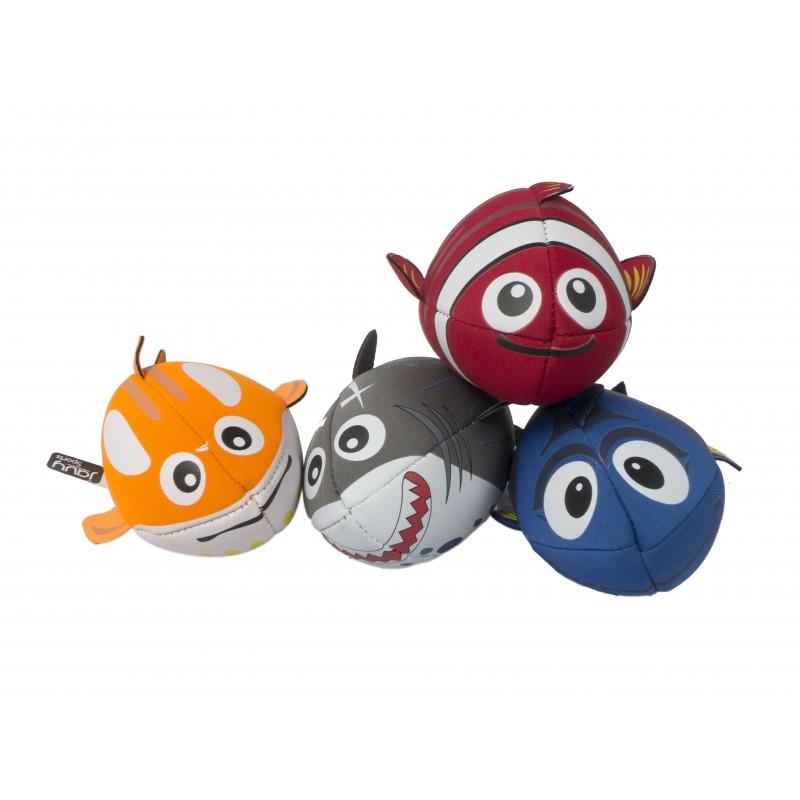 "6"" Adorable Fish Football (set of 4)"