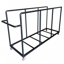 Vertical Mat Carrying Trolley
