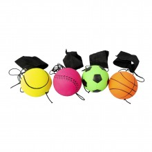 Foam Bouncy Ball With Wrist Strap