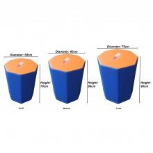 Premium Foam Octagonal Tumbler