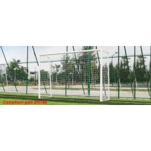 Steel Mini Football Goal Posts (BSEN Compliant) (Preorder)