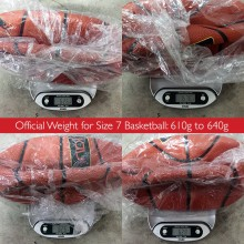Basketball Synthetic Leather (Size 4, 5, 6 ,7)
